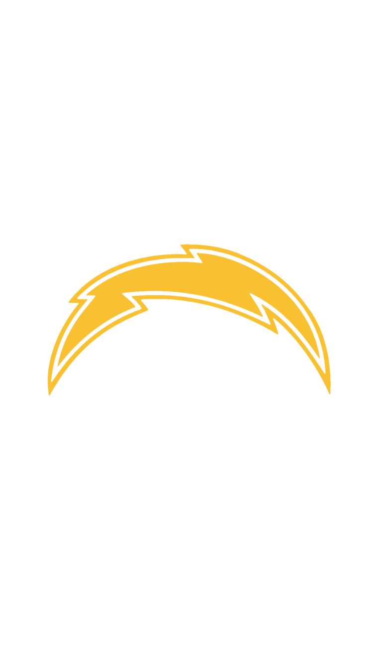 Minimalistic Nfl Backgrounds Afc West Chargers Nfl Nfl Nfl Logo