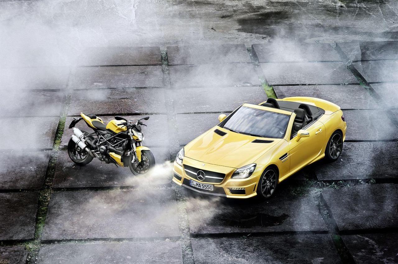 Mercedes Benz Slk 55 Amg I Ducati Streetfighter 848 Mercedes