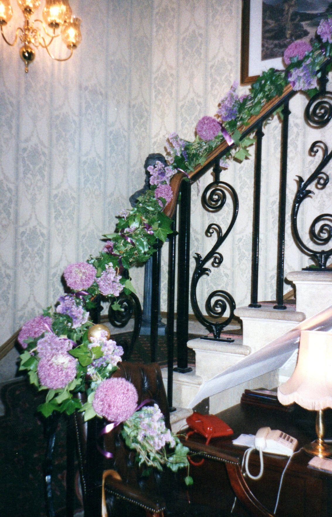 Wedding at Montgreenan mansion house hotel. The