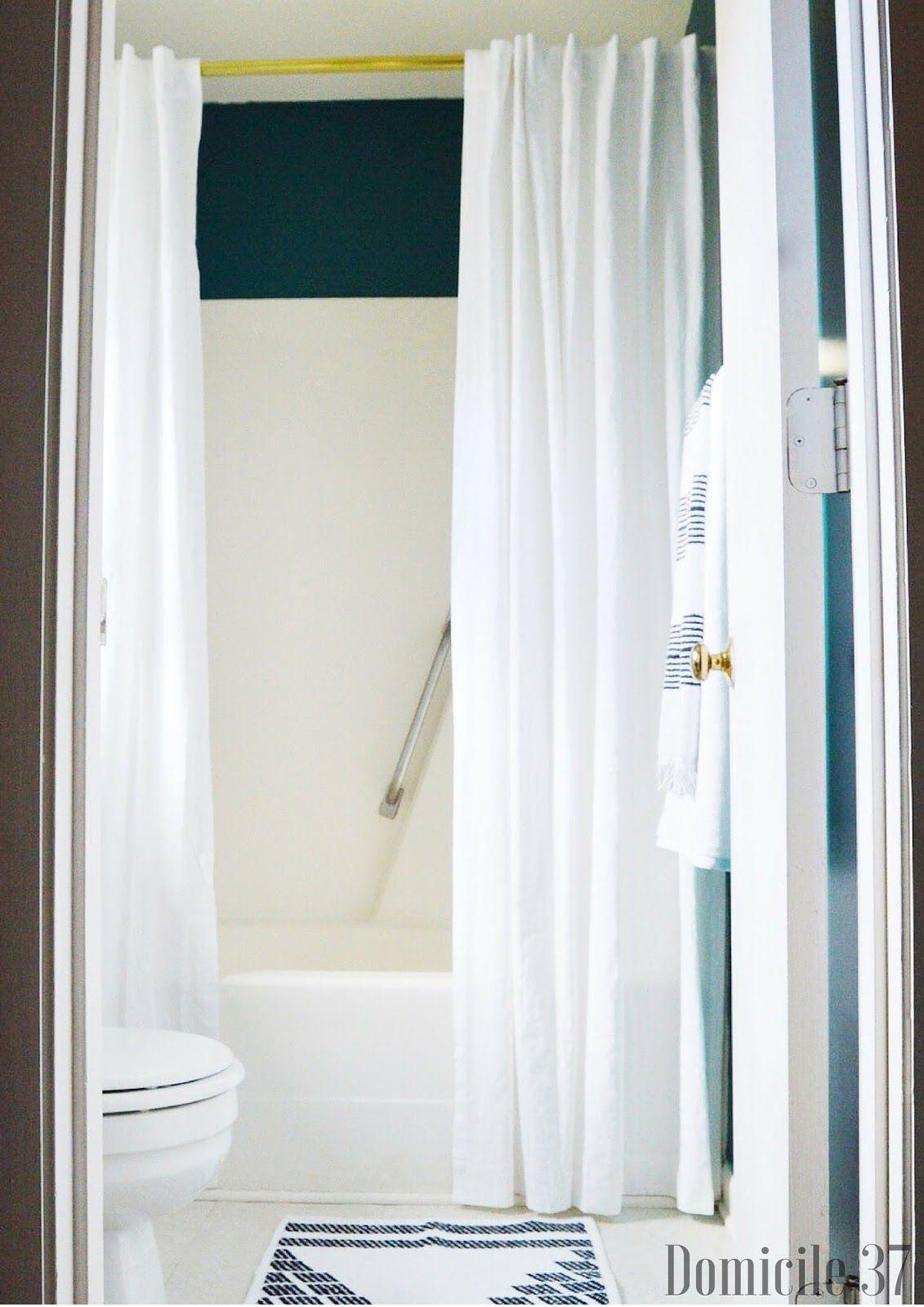 Domicile 37 Vintage Moody Bathroom Refresh With Ace Hardware 31DaysofColor Sponsored Ad