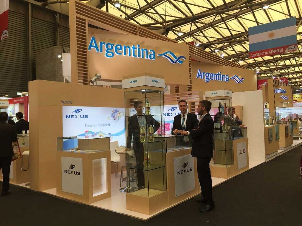 Exhibition Stand Design China : Sial china stand builder for argentina pavilion