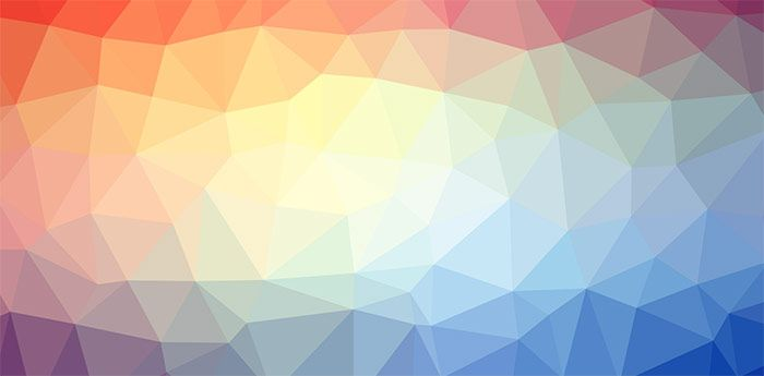 Trianglify – Generate colorful triangle meshes for SVG