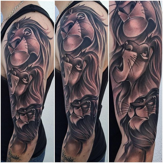 Image Result For Lion King Scar Camp Lion King Tattoo White Tattoo Lion Tattoo