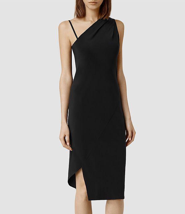 Womens Precie Dress (Black)     Black dress
