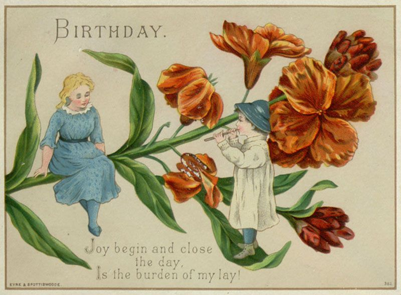 Vintage Happy Birthday Card Google Search Vintage Cards