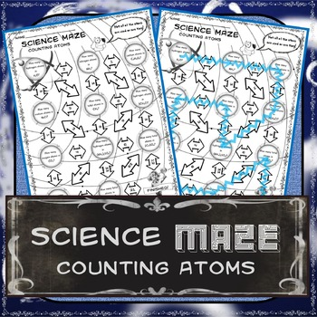 Science Maze Counting Atoms In 2021 Chemical Changes Counting Atoms Physics Counting atoms worksheet answers