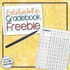 FREE Polka Dot Gradebook Template | Homeschool | Pinterest | Homeschool