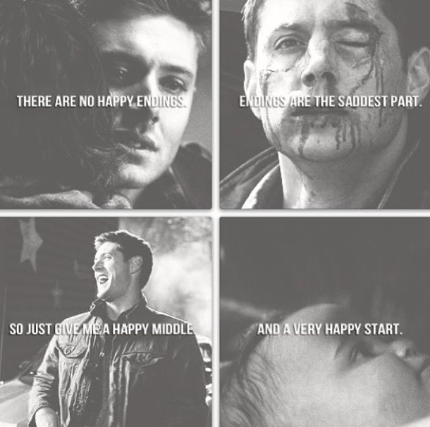 supernatural sad quotes