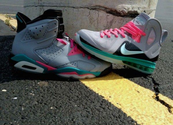 """Air Jordan VI """"South Beach/Miami Vice"""