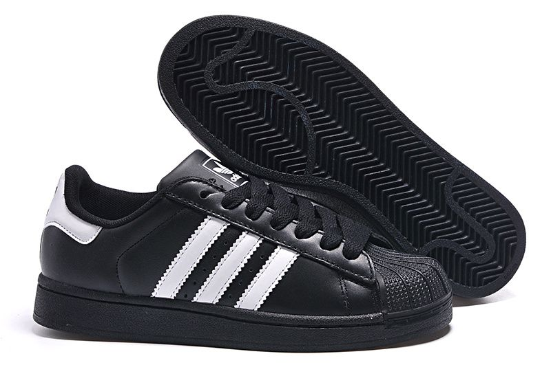 2017 latest style adidas Superstar black