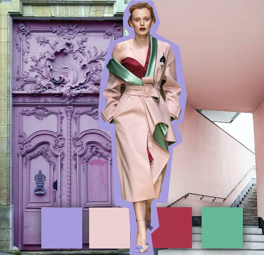 Color Moda Pinterest Fashion, Color trends and Fashion trends