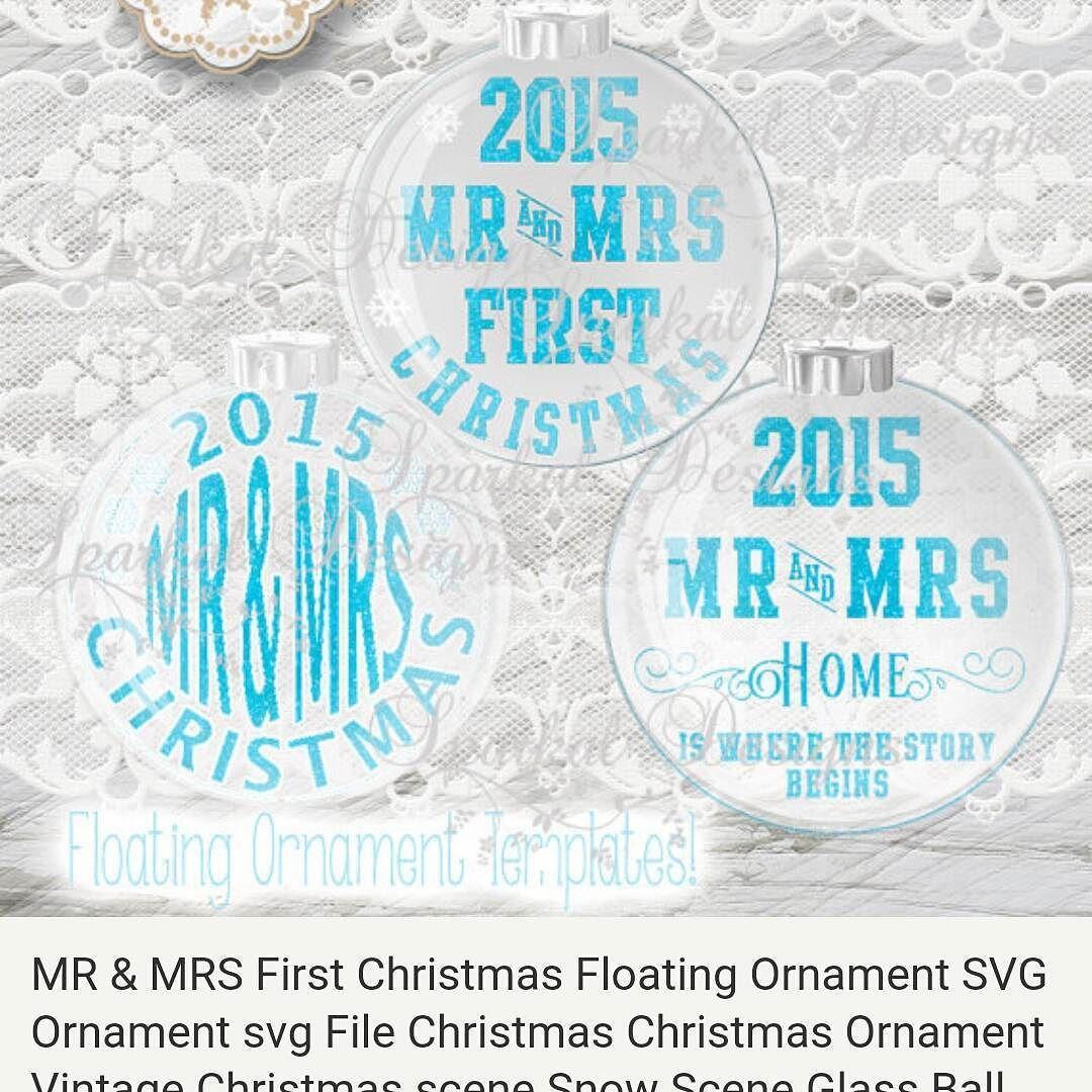 Floating Christmas ornament templates silhouettecameo
