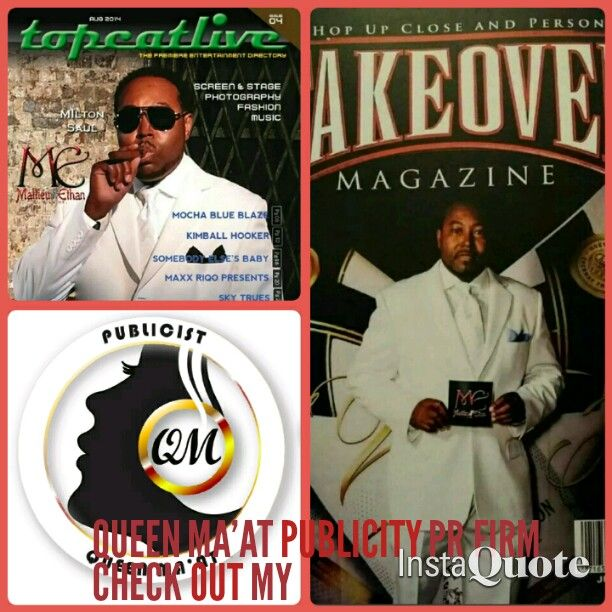 Fashion Designer Milton Saul Iamme Featured On Two Top Cover Magazines Topcatlive Out Of Louisiana Nd Takeover Magazine With Images Maat Blue Blaze Milton