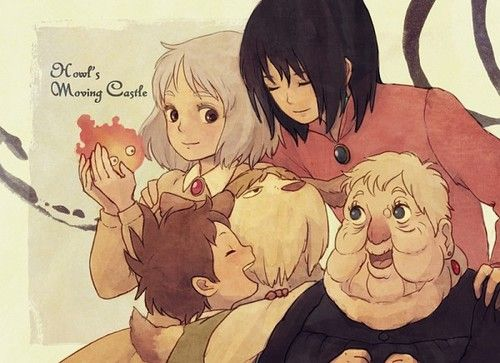 howl's moving castle. Love this movie!