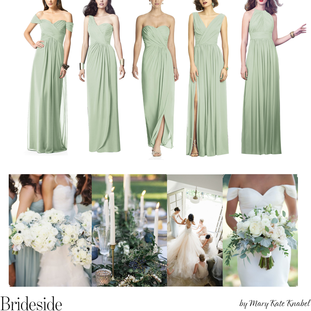 Sage Dessy Mix And Match Bridesmaid Dresses Join The Bridal Party At Www Brideside Com Sign Sage Bridesmaid Dresses Mix Match Bridesmaids Dresses Bridesmaid