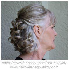 Bridal Hair Wedding Hair Mother Of The Groom Mother Of The Groom Hairstyles Mother Of The Bride Hair Mom Hairstyles