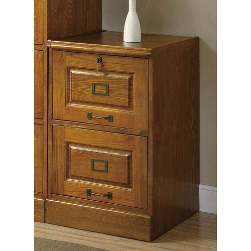 Coaster Furniture Palmetto Oak File Cabinet With Two Drawers | Coasters And  Drawers