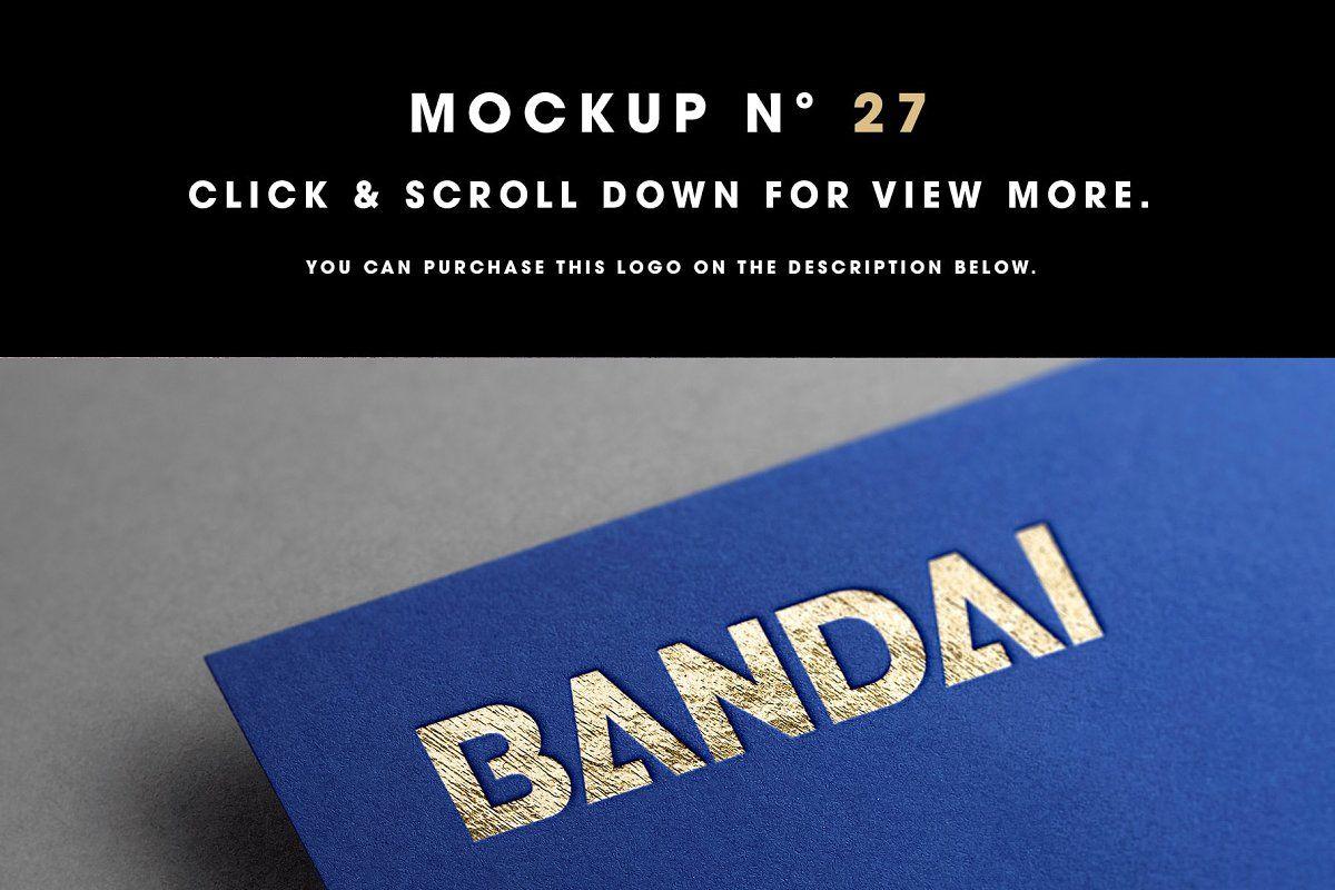 50 Logo Mockup Branding Bundle V1 Logo Mockup Branding Mockups 50 Logo
