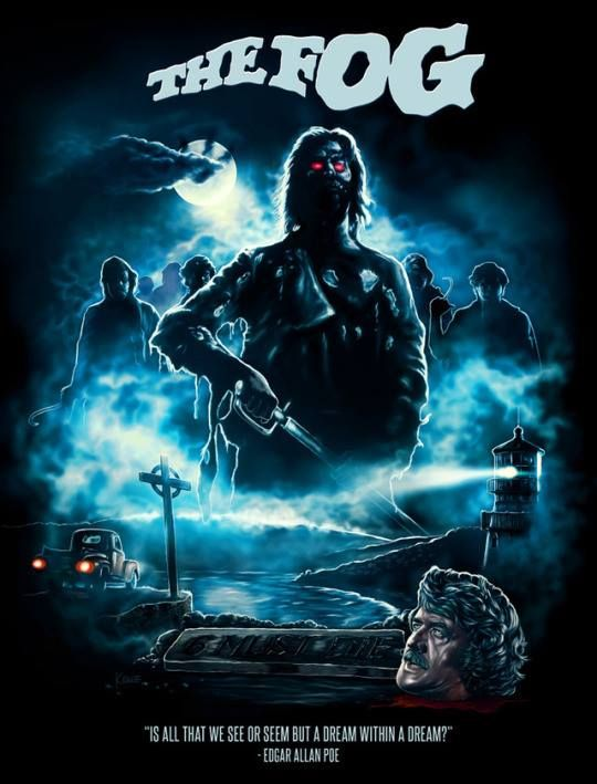 Horror Movie Poster Art : The Fog 1980 by Ralf Krause ...