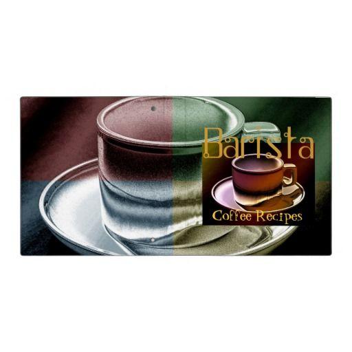 Barista Coffee Recipes Avery Binder