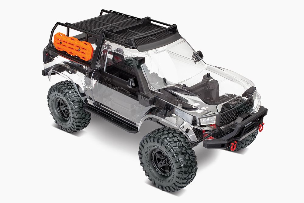 Traxxas' Transparent TRX4 Sport Kit Is An R/C Truck For