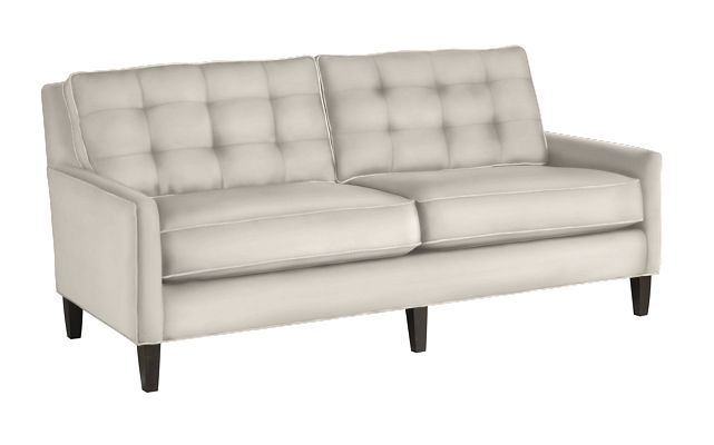 Thomasville Highlife Biscuit Back Sofa Furniture Home Decor Home