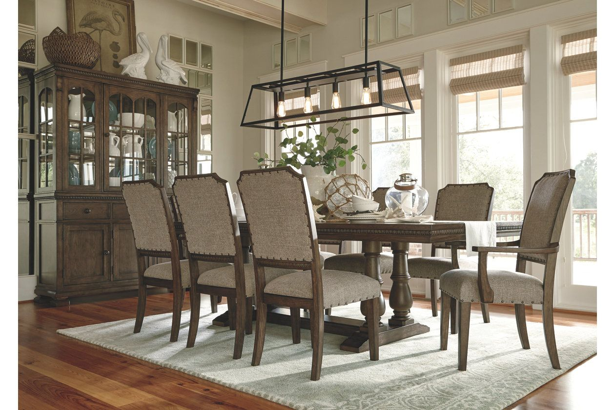 Larrenton Table And Base Dining Room Design Dining Room Small Brown Dining Room Set