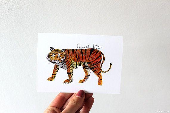 Thanks Tiger card
