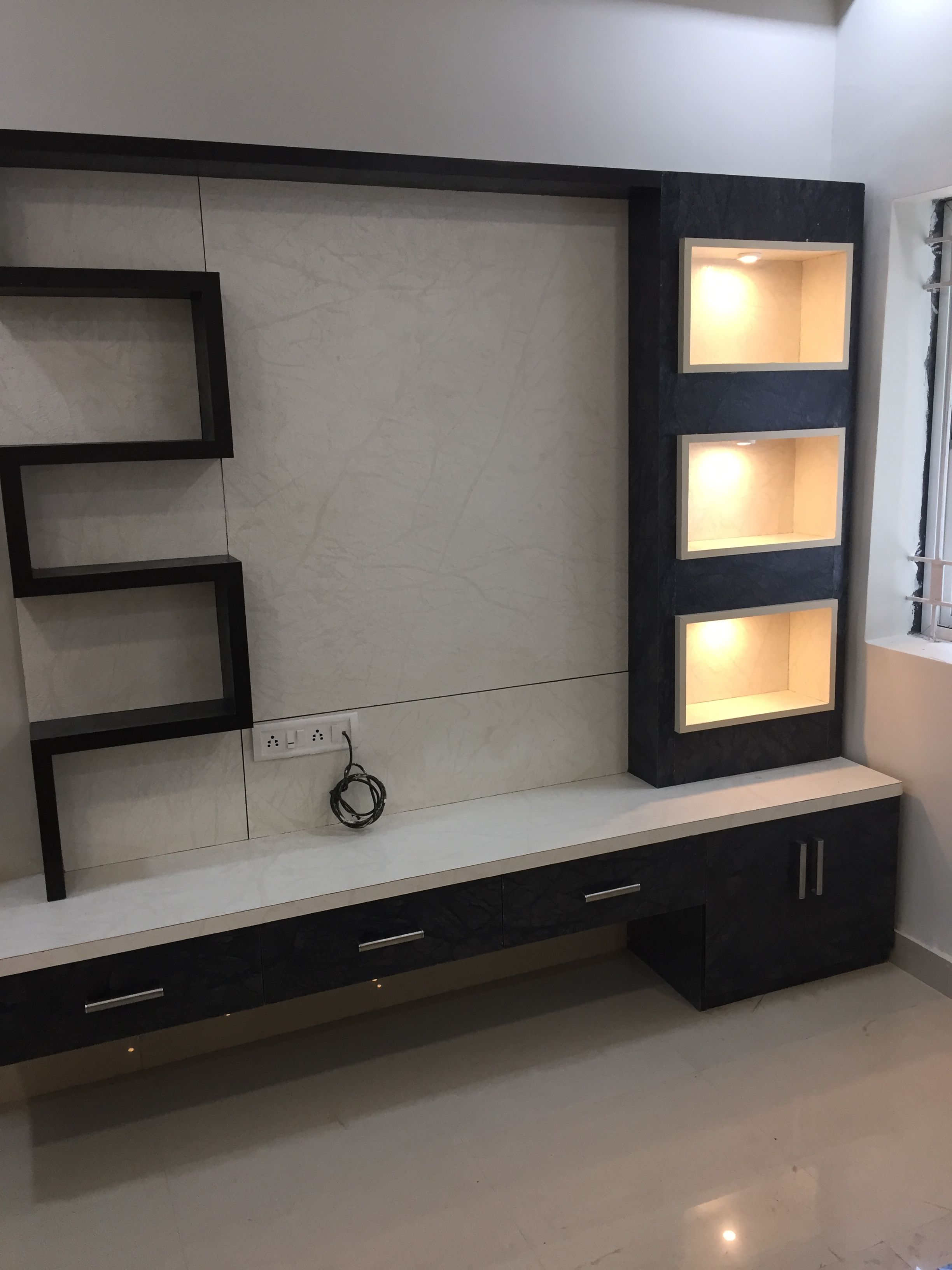 Modern Tv Tv Unit Tv Unit In 2019 Modern Tv Wall Units Tv Wall Design