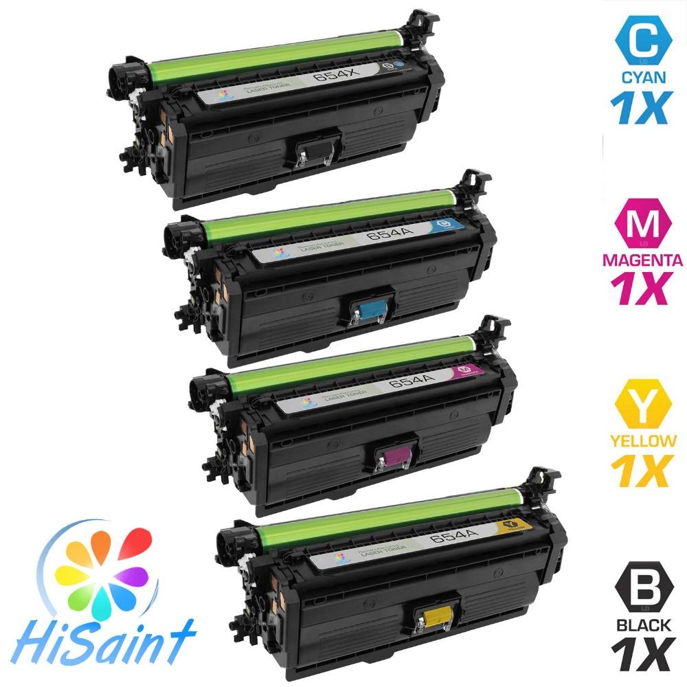 846.00$  Buy here  -  Hisaint Listing 4 PK CF330X CF331A CF332A CF333A Compatible Toner cartridge For HP Color LaserJet M651dn M651n BK 19800 CL15000