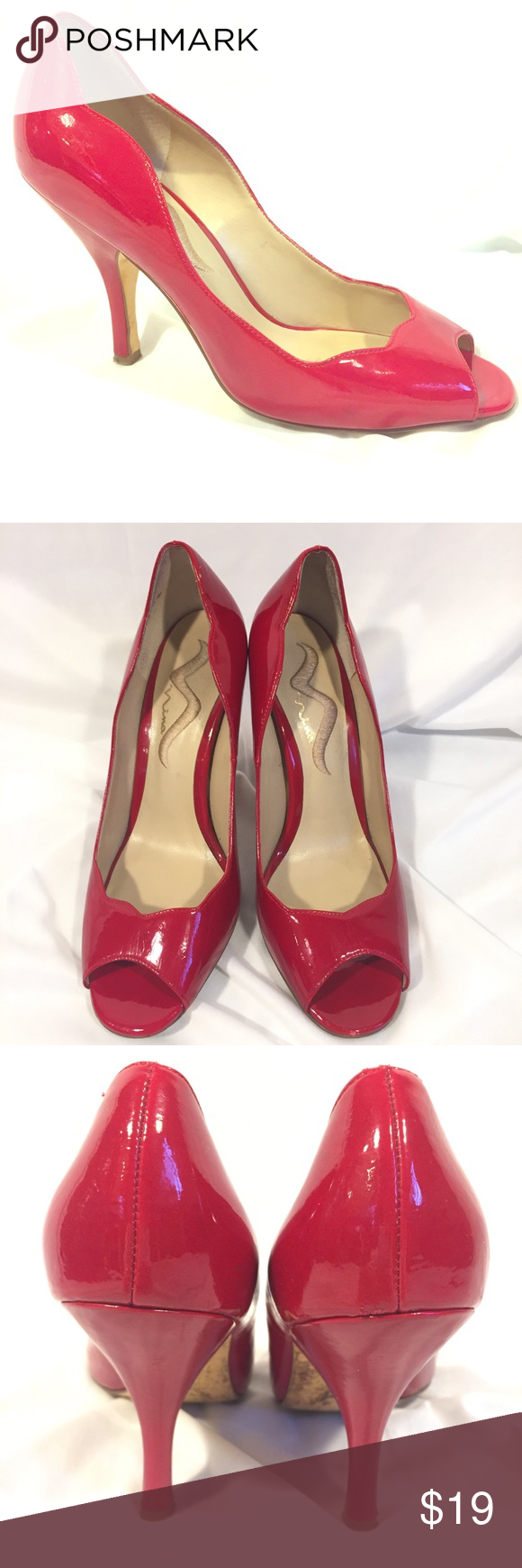 To acquire How to peep red wear toe heels picture trends