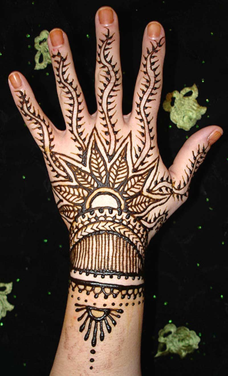 Henna Designs And Meanings Designs Meanings Henna Tattoo Tattoos