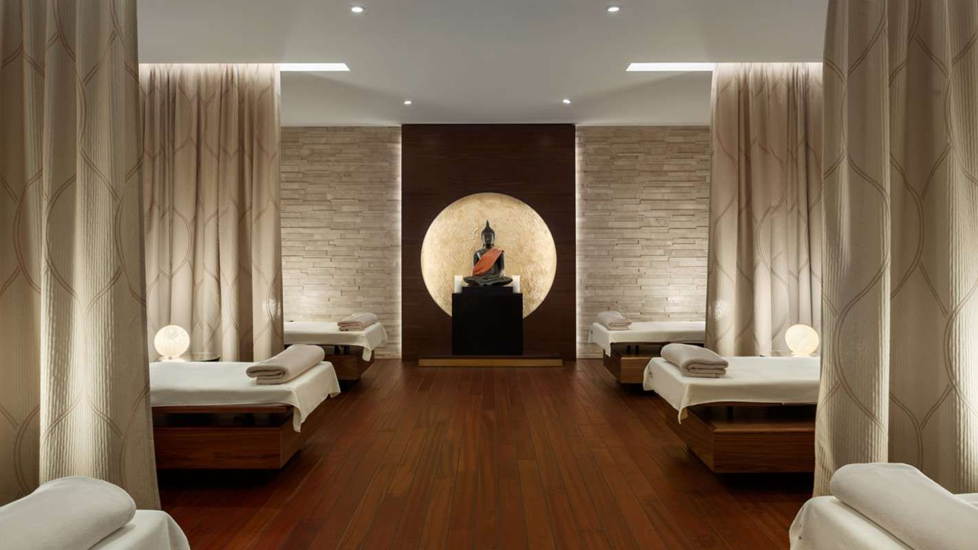 Pin by Candy Pimploy on Spa  Spa treatment room Luxury