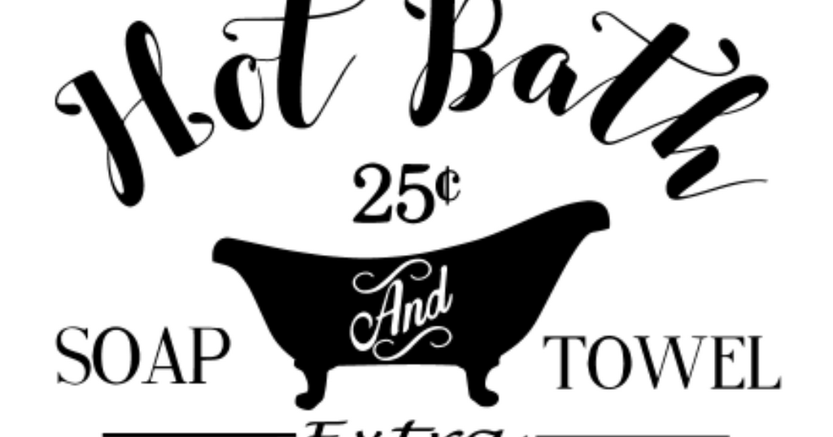 Hot Bath Svg Svg Projects To Try Bath Shelf Bath