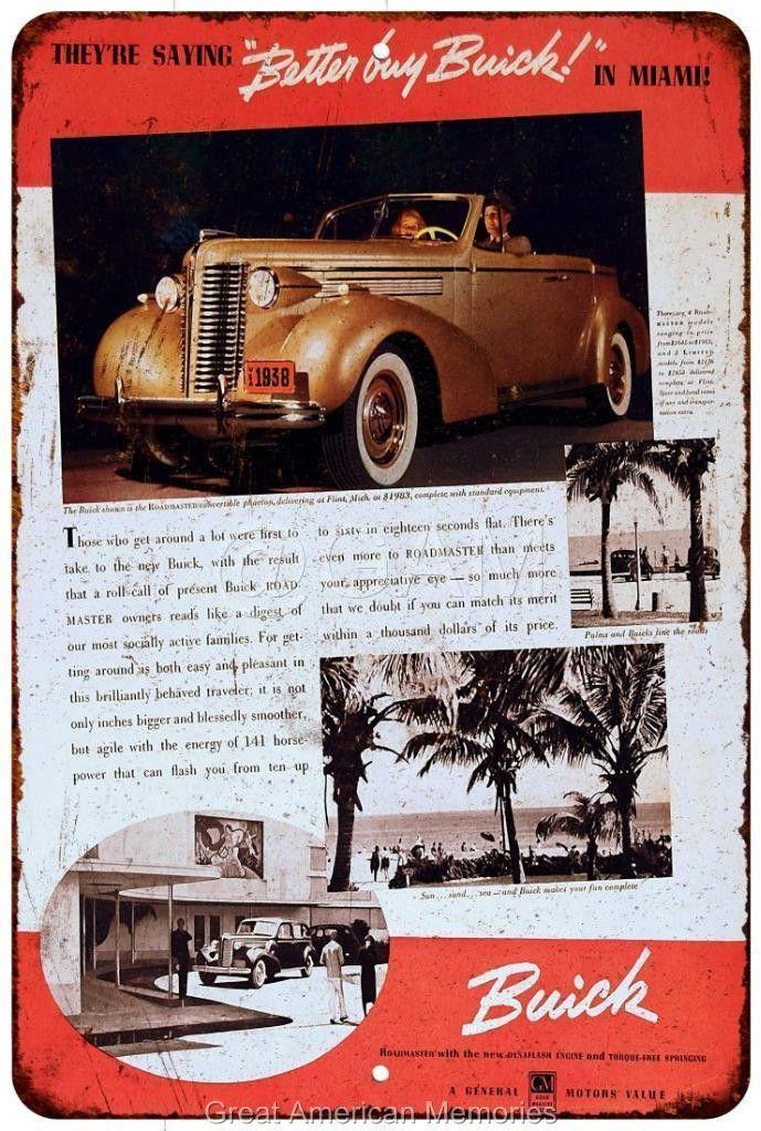 1955 Mercury Automobiles Vintage Look Reproduction Metal Sign