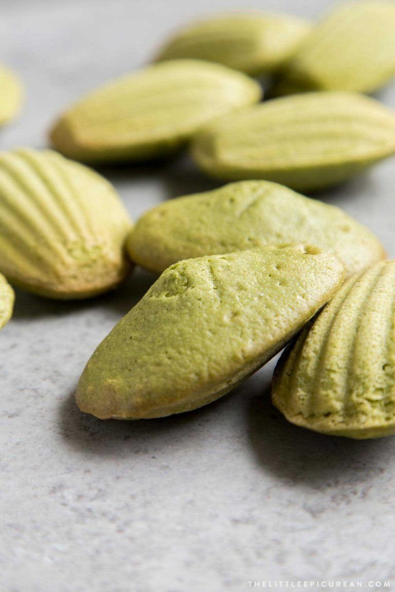Photo of Matcha Madeleines – The Little Epicurean
