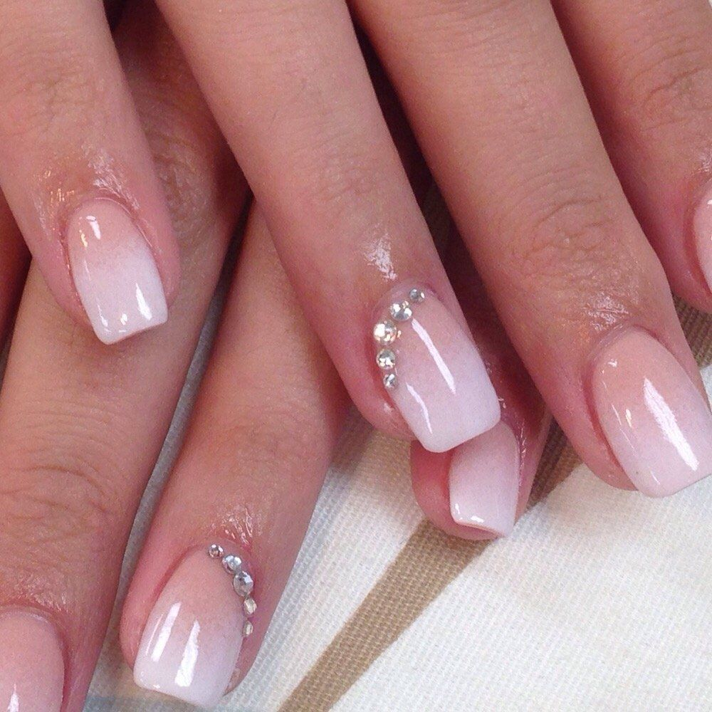 SNS baby boomer - Yelp   Red and white nails, Bride nails ...