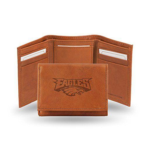Siskiyou NCAA Leather Tri-Fold Wallet