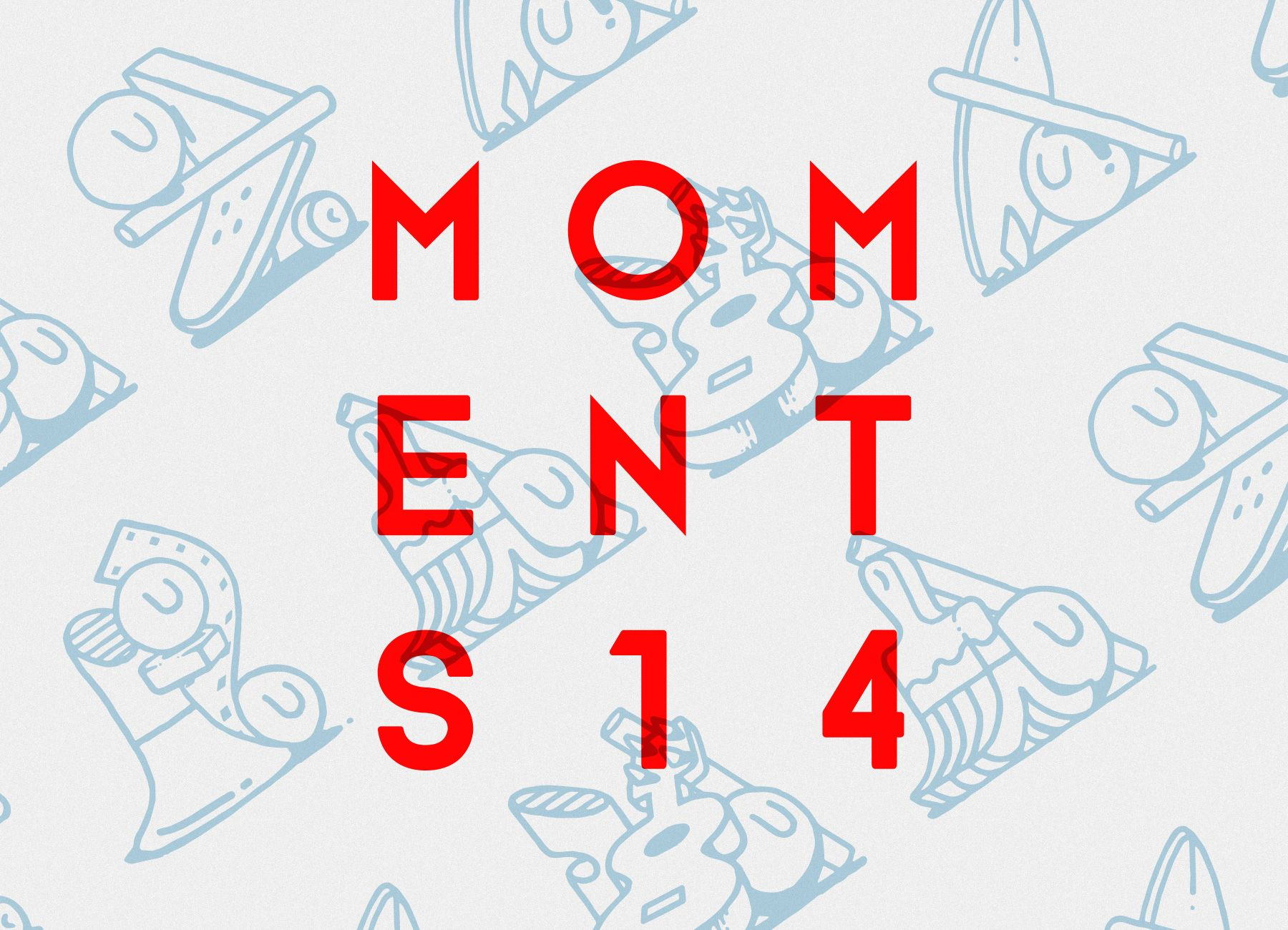 Cristian Ordonez Moments Festival 2014 Graphic Identity Branding Design Contemporary Photography Color Photography