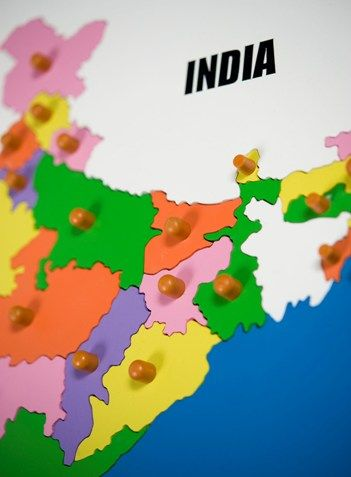 India Map Puzzle.India Map Puzzle Gnaana Products Pinterest