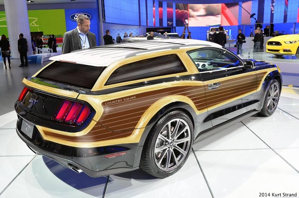 1965 Mustang Station Wagon >> 2015 Mustang-based Country Squire wagon... - 1:1 Car Reference Pictures - Model Cars Magazine Forum