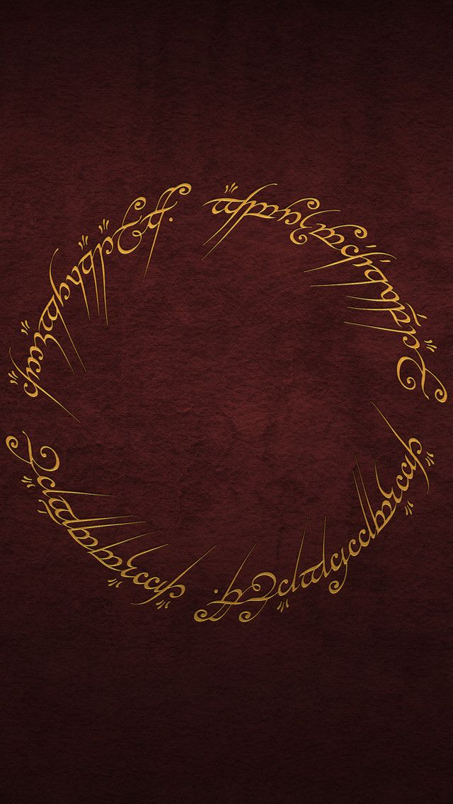 iPhone wallpapers (iPhone 5) in 2020 Lord of the rings