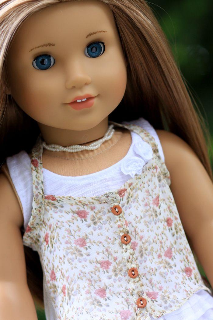 Liberty Jane Denim Jacket Doll Clothes Pattern 16 inch A