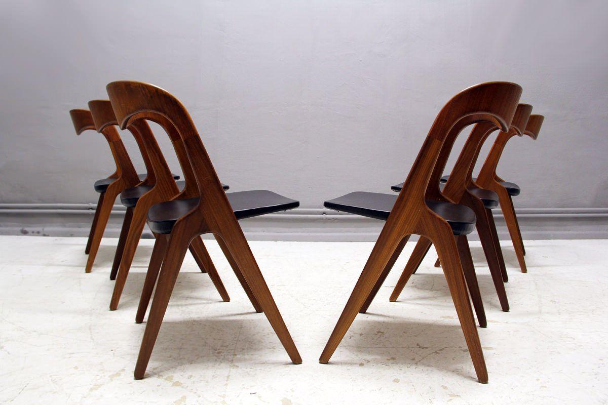 Atelier Pi 6er set teak stühle vamo sønderborg atelier pi berlin modern