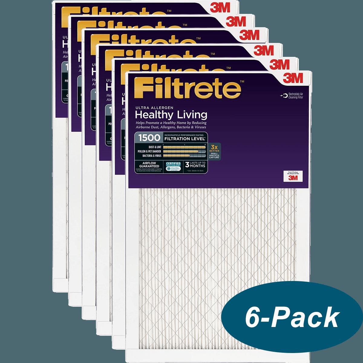 Buy Cheap Filtrete Healthy Living 1500 MPR Ultra Allergen