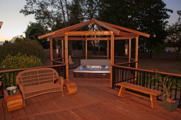 Deck Design Ideas With Hot Tubs That Will Blow Your Mind Hot Tub