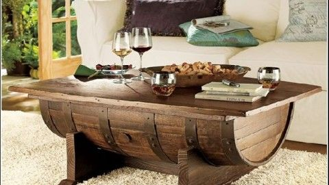 A Wine Barrel Coffee Table Project Is A Great Shop Project Detailing The  Construction From Start To Finish. A Beautiful Piece Of Furniture.