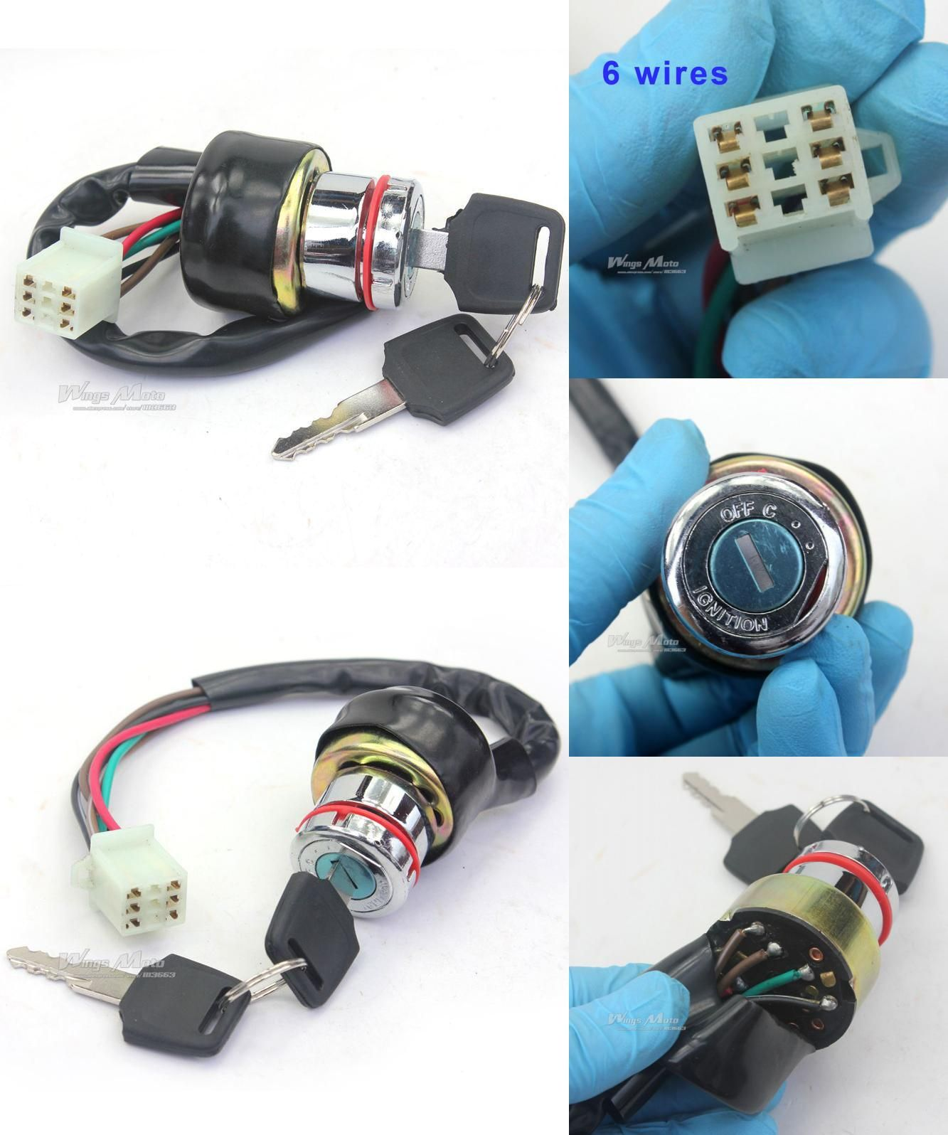 visit to buy] adjustable folding extendable brake clutch lever for Rmx450z Front Fender 2012 Msp On Wiring Harness For [visit to buy] 6 wires ignition key switch 90cc 125cc 150cc gokart atv dirt