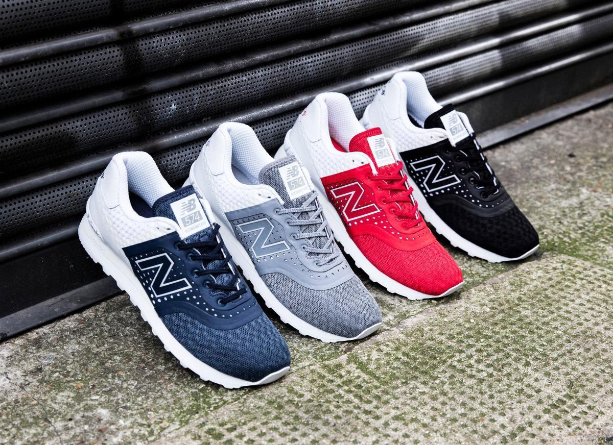 new balance men's 574 (breathe) shoes