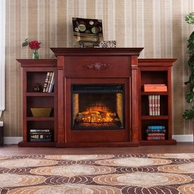Boston Loft Furnishings 50 In W White Finish With White And Gray Marble Fan Forced Electric Fireplace Atg9539001fs In 2020 Electric Fireplace Marble Fireplace Mantel Best Electric Fireplace